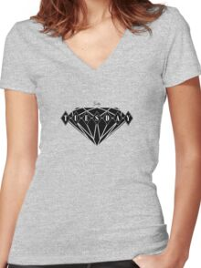 Ruby Tuesday Prt.II Women's Fitted V-Neck T-Shirt