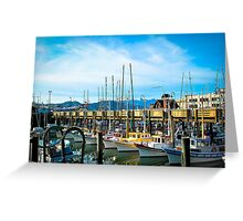 San Francisco and Color Greeting Card