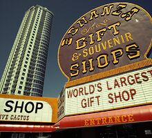 Bonanza Gift Shop Neon Billboard, Las Vegas by Reinvention