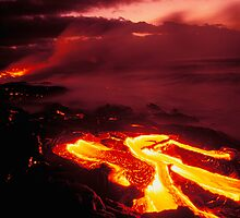 Hawaii Volcanoes National Park by printscapes