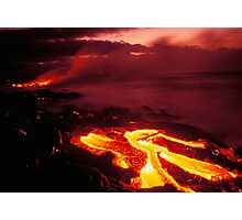 Hawaii Volcanoes National Park Photographic Print