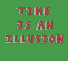 Time Is An Illusion Kids Tee
