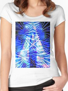 spiritual dancer Women's Fitted Scoop T-Shirt