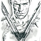Spartacus Pencil & Ink Sketch by chrisjh2210