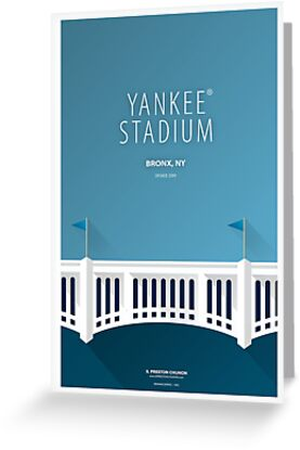 Minimalist Yankee® Stadium - New York by pootpoot