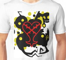 Heartless White(Kingdom Of Hearts) Unisex T-Shirt