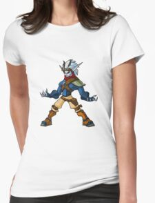 Jak and Daxter - Dark Jak Womens Fitted T-Shirt