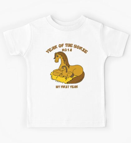 Year of The Horse Baby 2014 Kids Tee