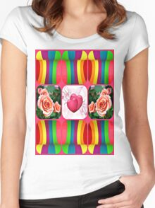 spring time Women's Fitted Scoop T-Shirt