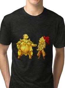 Rock beats scissors Tri-blend T-Shirt