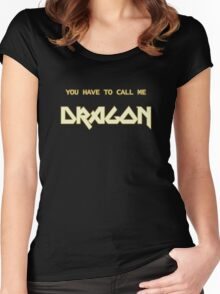 Also Known As Dragon Women's Fitted Scoop T-Shirt
