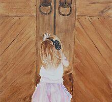 Behind the doors by Nicole Barros