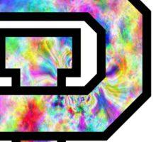 Baylor University Logo Trippy Sticker