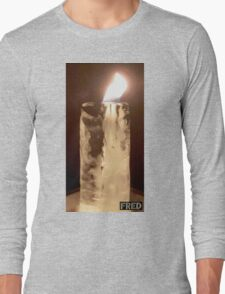 Fire from Ice - FredPereiraStudios.com_Page_01 Long Sleeve T-Shirt