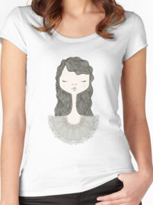 Pretty Girl Women's Fitted Scoop T-Shirt