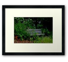 Relax with Nature Framed Print