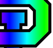 Baylor University Rainbow Sticker