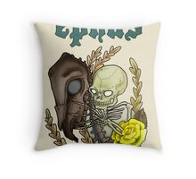 Pale Horse Poster Throw Pillow