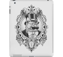 Hipster Mustache Cat iPad Case/Skin