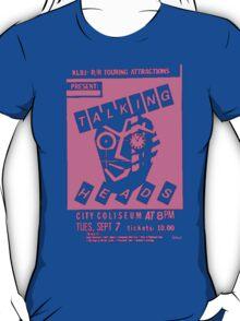 Talking Heads Gig Flyer Tee (Pink print) T-Shirt