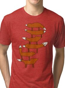 Colin Morgan's Fox Tower Shirt Tri-blend T-Shirt