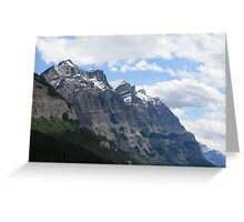 Rocky Mountain View Greeting Card