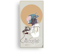 The Escapist Canvas Print