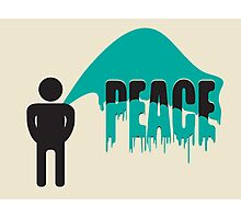 piss on peace Photographic Print
