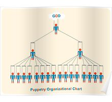 Puppetry organizational chart Poster