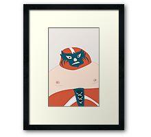 el luchador Framed Print
