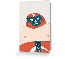 el luchador Greeting Card