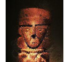 Pagan Idol Generative Digital Painting Photographic Print