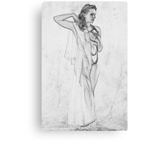 Ginger Monochrome Canvas Print