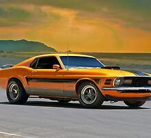 1970 Ford Mustang Mach I by DaveKoontz