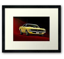 1970 Plymouth Barracuda Framed Print