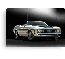 1971 Ford Mustang Convertible Canvas Print