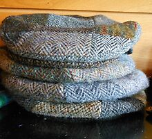 Harris Tweed Caps by Kathryn Jones