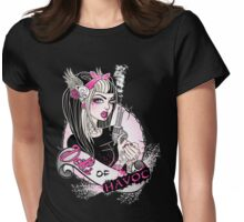 Dolls of Havoc Logo Womens Fitted T-Shirt