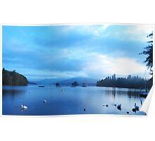 Blue Calm - Lake Windermere Poster