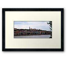 Scenic Budapest, Hungary Framed Print