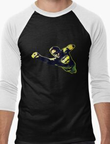 Hal Jordan in Flight Men's Baseball ¾ T-Shirt