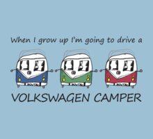 Kids VW Camper Kids Tee