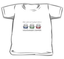 Kids VW Camper Kids Tee