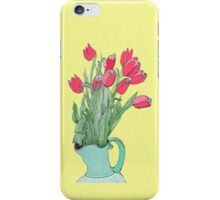 A pitcher of Tulips iPhone Case/Skin