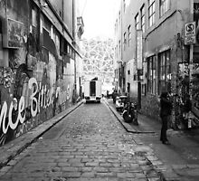 Hosier Lane Melbourne by David Gan