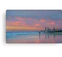 Catching the Sunrise too - Gold Coast Qld Australia Canvas Print