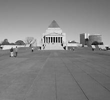 Shrine of Remembrance by David Gan