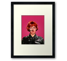 Molly In Dune Digital Duesday # 4  Framed Print
