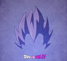 Vegeta Minimalist by Alex Boatman
