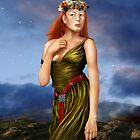Pre Raphaelite Woman by Paul Fleet